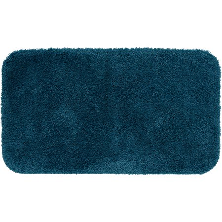 Mainstays Performance Nylon Bath Rug, Baltic Sea, 19.5