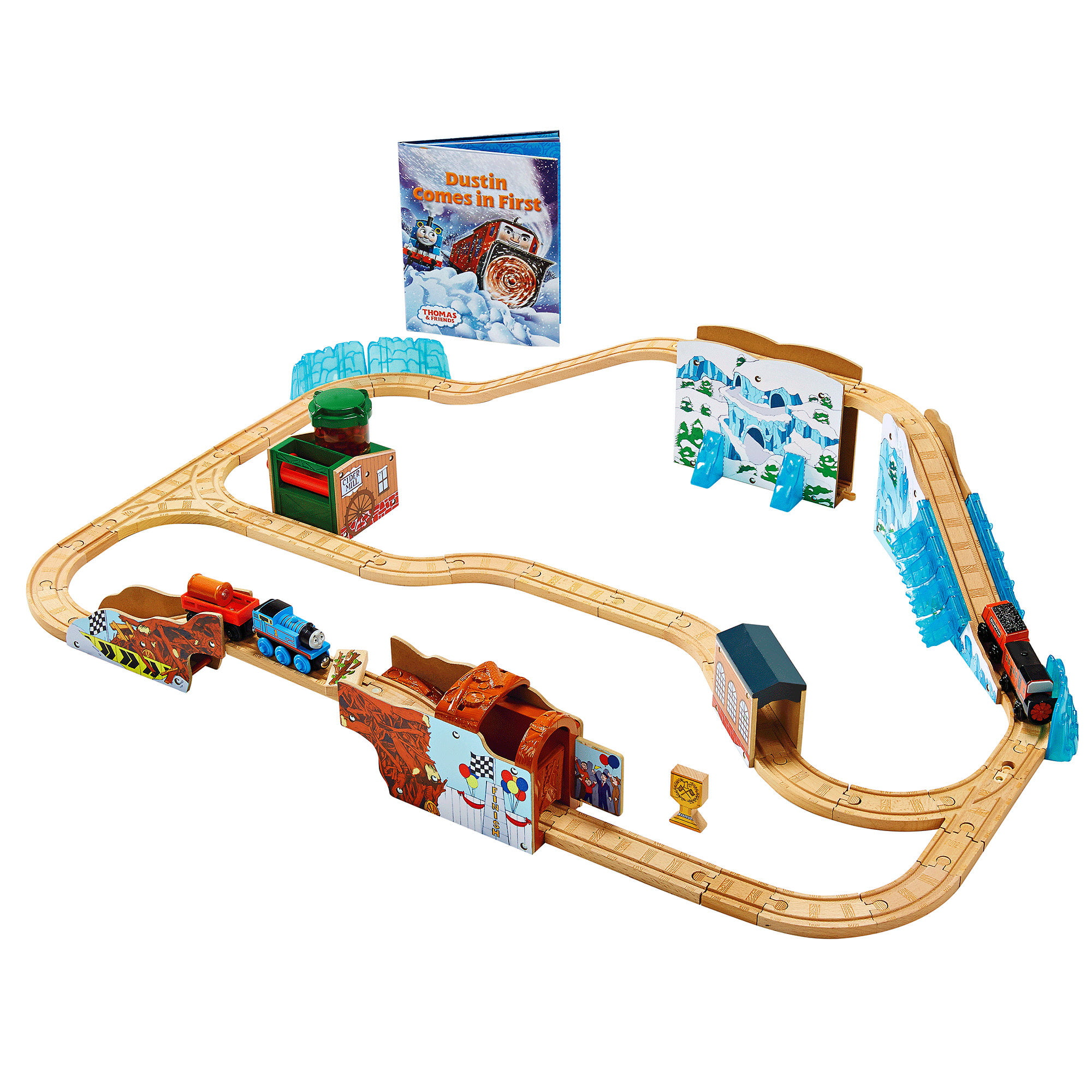 Fisher Price Thomas & Friends Dustin Comes In First Set by Mattel