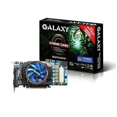 - galaxy geforce gts 250 512 mb gddr3 pci express 2.0 dvi/hdmi/vga sli ready graphics card, 25sff6hx1rui