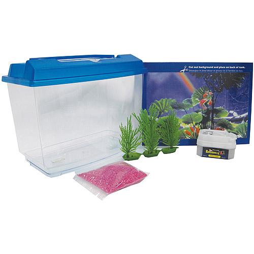 Penn Plax NWK25 1 gal Goldfish and Betta Aquarium Kit
