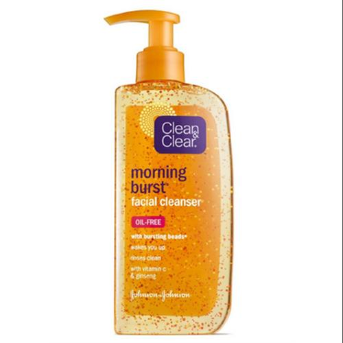 CLEAN & CLEAR Morning Burst Facial Cleanser 8 oz (Pack of 2)