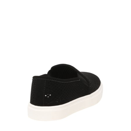 Women's Time and Tru Perforated Twin Gore Slip On