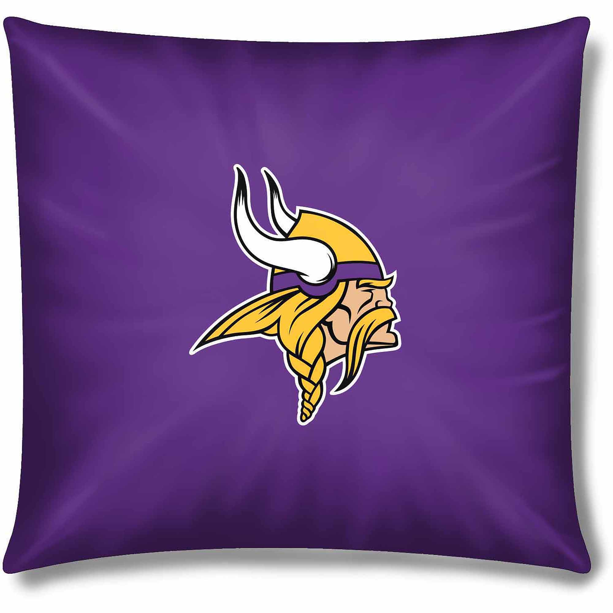"Vikings Official 15"" Toss Pillow"