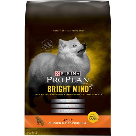 Purina Pro Plan BRIGHT MIND Chicken & Rice Formula Adult Dry Dog Food - 30 lb. Bag