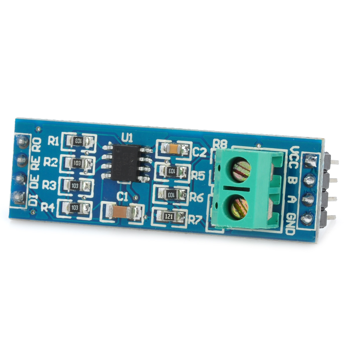 5V MAX485 Chip TTL to RS485 Converter Module Board for Arduino