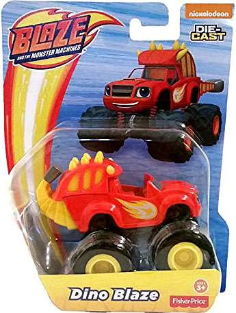 Fisher Price Blaze And The Monster Machines Dino Blaze..., By Nickelodeon Ship from US by