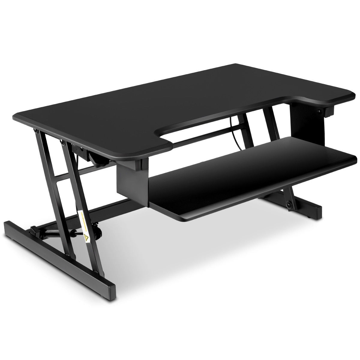 Costway Height Adjustable Standing Desk Sit Stand Desk