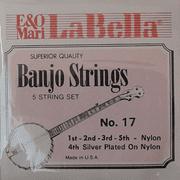 La Bella Nylon 5 Stg Banjo Set