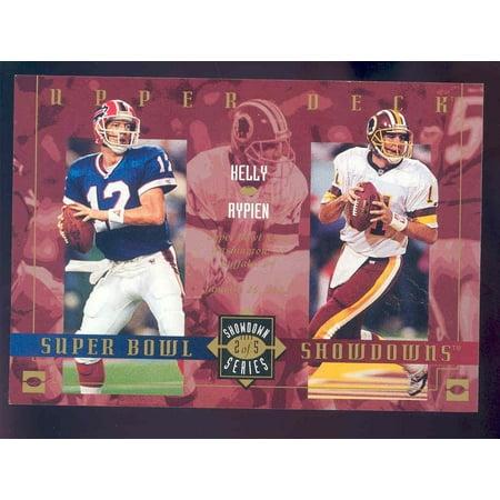 2003 Upper Deck Super Bowl Showdowns Lite/Tombstone #2 Jim Kelly Mark Rypien