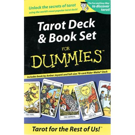 Fortune Telling Tarot Cards Tarot for Dummies Deck and Book Set by Amber Jayanti - Mysterious Fortune Cards