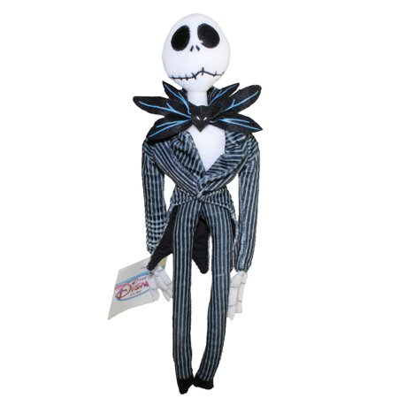 Disney Bean Bag Plush - JACK (The Nightmare Before Christmas) (13 inches) - Jack Nightmare