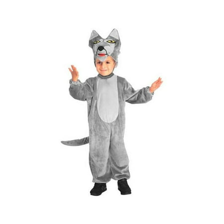 Child Big Bad Wolf Costume - Big Bad Wolf Costume For Child