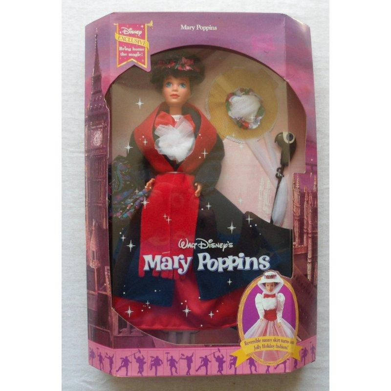 MARY POPPINS doll by Mattel Disney Exclusive! 1993 by