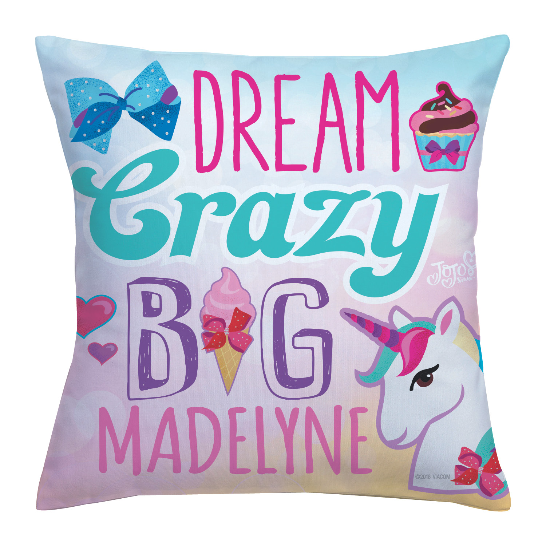 JoJo Siwa Dream Crazy Big Throw Pillow