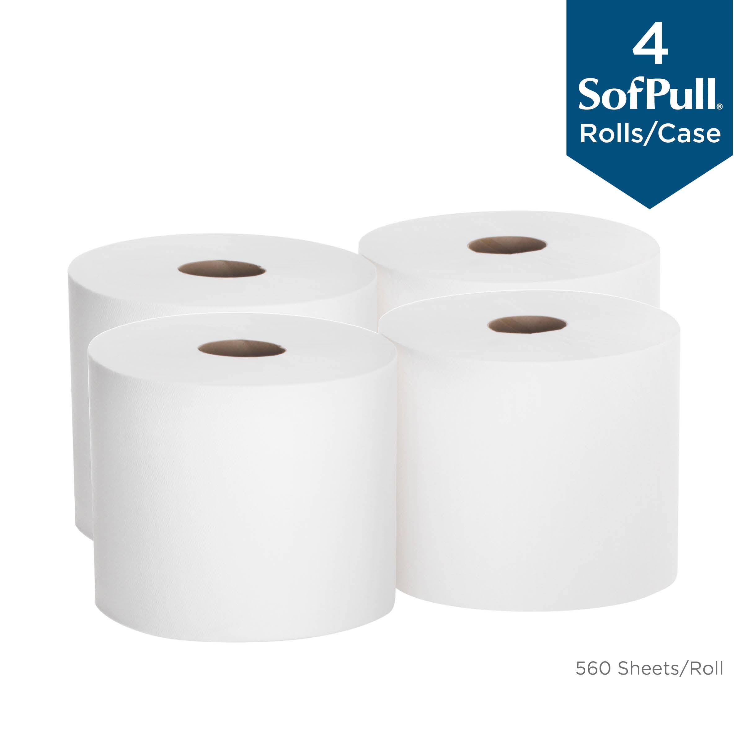 6 Rolls Commercial Center Pull Towels 600 Towels per Roll