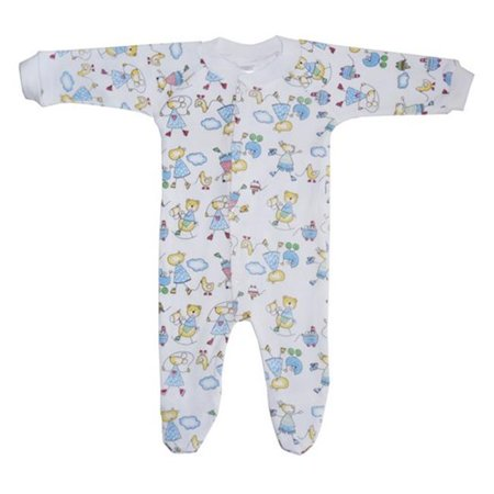 Bambini 515C S Interlock Print Closed-Toe Sleep & Play, Small (Costumi Halloween X Bambini)