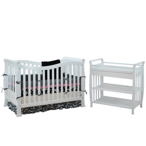 AFG Baby Furniture Nadia Convertible 2 Piece Crib Set