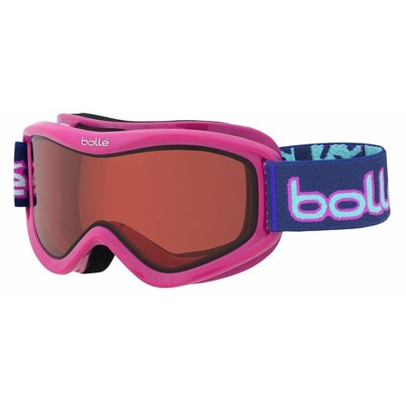 Bolle Volt Snow Goggles (Pink Confetti Frame/Vermillon Lens)