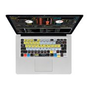 KB Covers Serato Scratch LIVE/ITCH Keyboard Cover SSL-M-CC-2 - Notebook keyboard protector - for Apple MacBook Air (13.3 in)