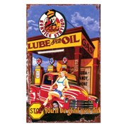 Lube and Oil Wall Art