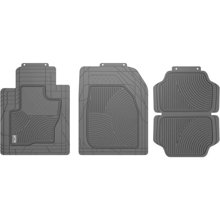 Custom Fit Tan 4 Piece All Weather Suv Crossover Floor Mat