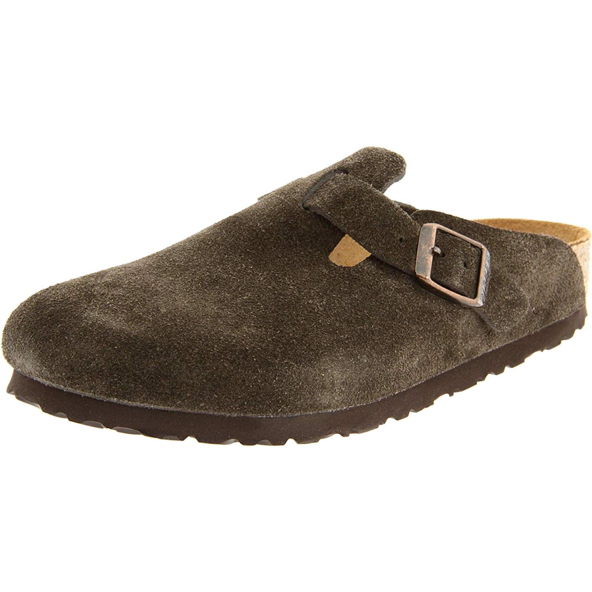 bd959d5817316 Birkenstock Womens Boston Leather Closed Toe Mules | Walmart Canada