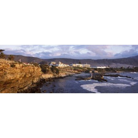 Old whaling station on the coast Hermanus Western Cape Province Republic of South Africa Canvas Art - Panoramic Images (18 x 7)