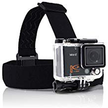 Action Camera Head Strap/belt Harness Mount + Aluminum Thumbscrew Mount for Gopro Hd Hero Type Cameras Sj4000