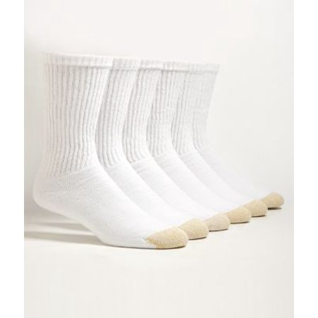 Gold Toe Men's Sport Crew Socks 6-Pack