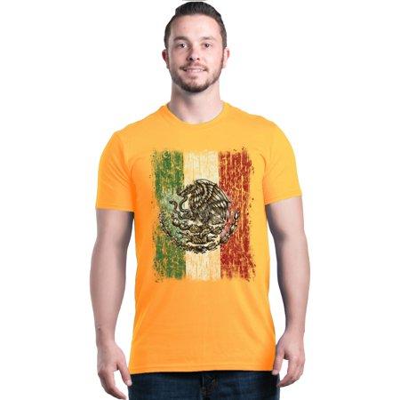 Shop4Ever Men's Flag of Mexico Mexican Cinco de Mayo Graphic T-shirt](Cinco De Mayo Colors To Wear)