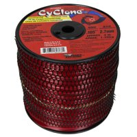 """Cyclone CY105S3 0.105"""" x 690' Commercial String Trimmer Line Red, Made in the USA"""