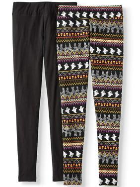 Women's Knit Halloween Legging - 2 Pack