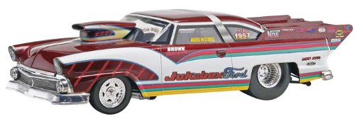 '55 Jukebox Ford Plastic Model Kit, This kit features a complete tube frame race chassis... by
