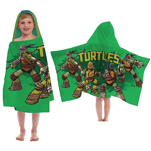 Nickelodeon Teenage Mutant Ninja Turtles Hooded Towel