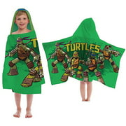Nickelodeon Teenage Mutant Ninja Turtles Hooded Towel, 1 Each