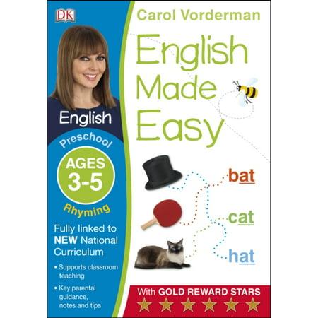 English Made Easy Rhyming Preschool Ages 3-5ages 3-5 Preschool](Halloween Crafts For Preschool Age)