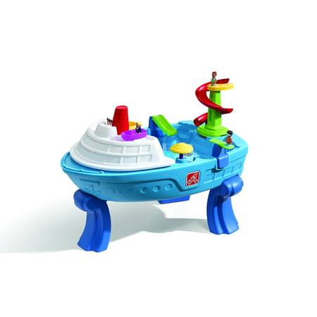 Step2 Fiesta Cruise Sand & Water Table With 10 Piece Accessory
