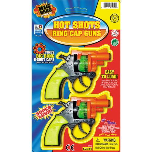 Funtastic 8305 Hot Shots Ring Cap Guns - 2-Pack