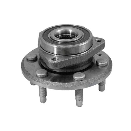 1 New Front or Rear Complete Wheel Hub and Bearing For GMC Acadia Buick Enclave (Hub Complete Rear)