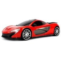 Velocity Toys WFC McLaren P1 Remote Control RC Car 1:16 Scale Size Ready To Run w/ Bright LED Headlights (Colors May Vary)