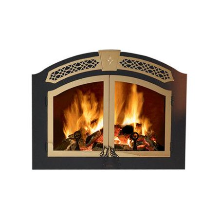 Napoleon H335 Arched Double Doors For Napoleon Nz6000 Fireplace