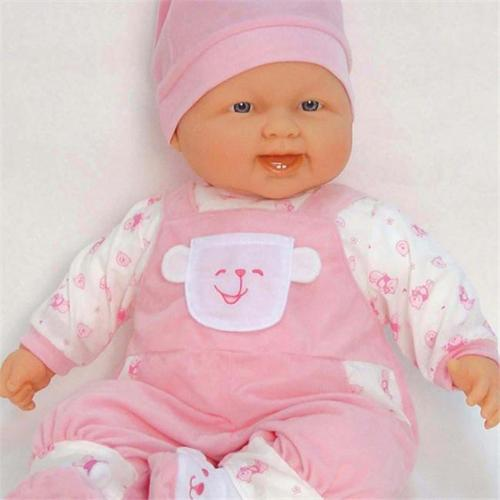Dolls By Berenguer 35016 Lots to Cuddle Caucasian Baby Doll - 20 Inches