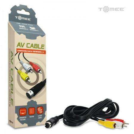 AV Cable for Sega Genesis 3/ Genesis 2 - Tomee ()