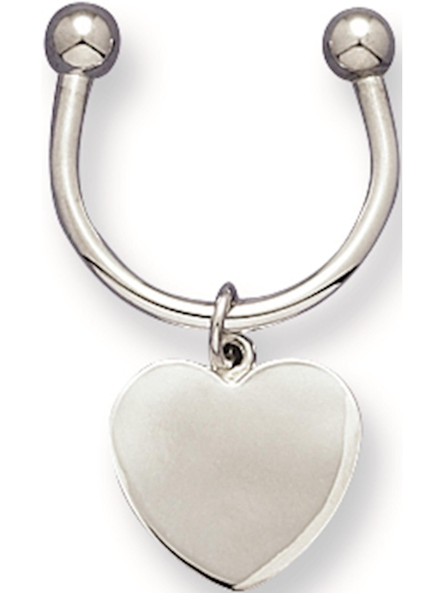 Heart Key Ring Designer Jewelry by Sweet Pea