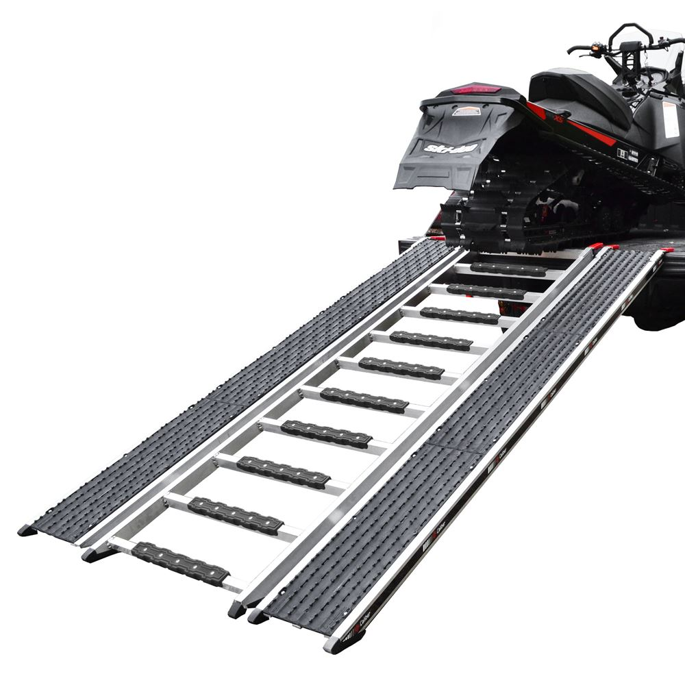 "90"" Caliber Ramp PRO Snowmobile ATV Loading Ramp with Stud Protectors"