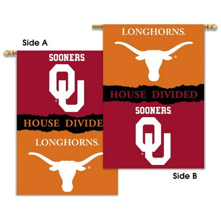 Bsi Products Ncaa Banner - BSI Products NCAA House Divided 2-Sided Polyester Banner