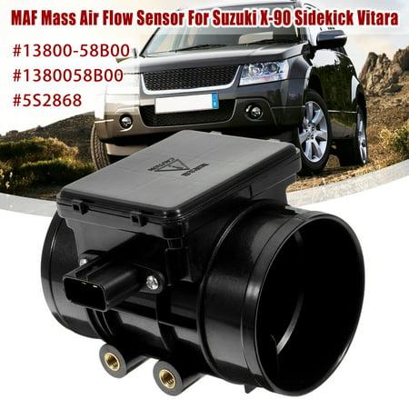 MAF Mass Air Flow Sensor Meter For Suzuki 92-98 X-90 Sidekick Vitara Chevrolet 13800-58B00 1380058B00 5S2868
