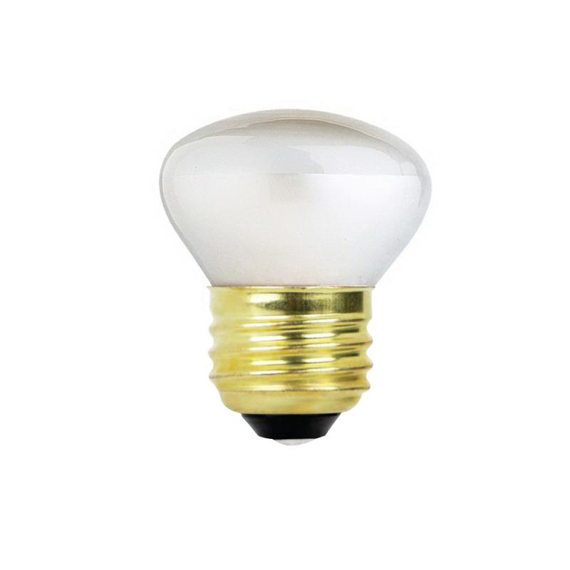 Feit Electric BP25R14 Dimmable Incandescent Lamp, 25 W, 120 V, Blown Reflector, Medium Screw (E26),