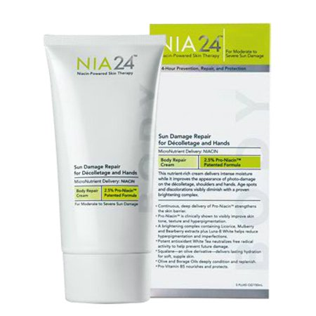 Nia 24 Sun Damage Repair Decolletage & Hands, 5 Oz