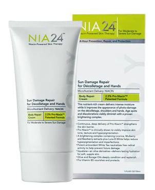 Nia 24 Sun Damage Repair Decolletage & Hands, 5 Oz